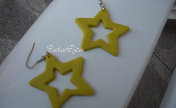 Orecchini a stella