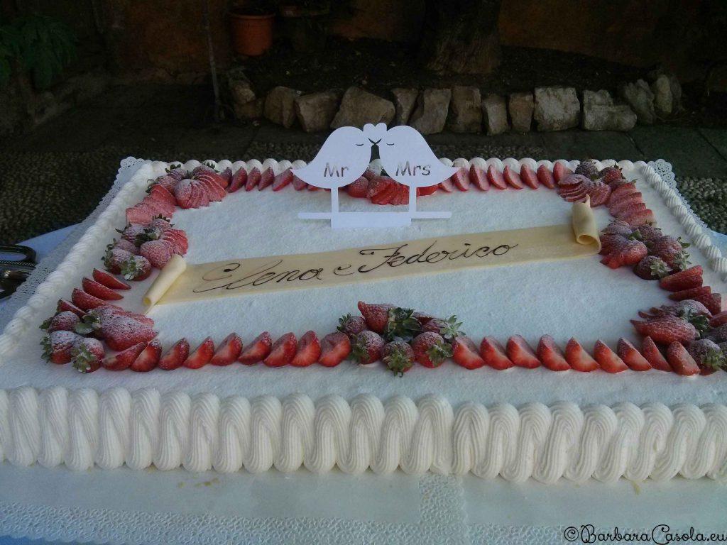 Matrimonio topper torta