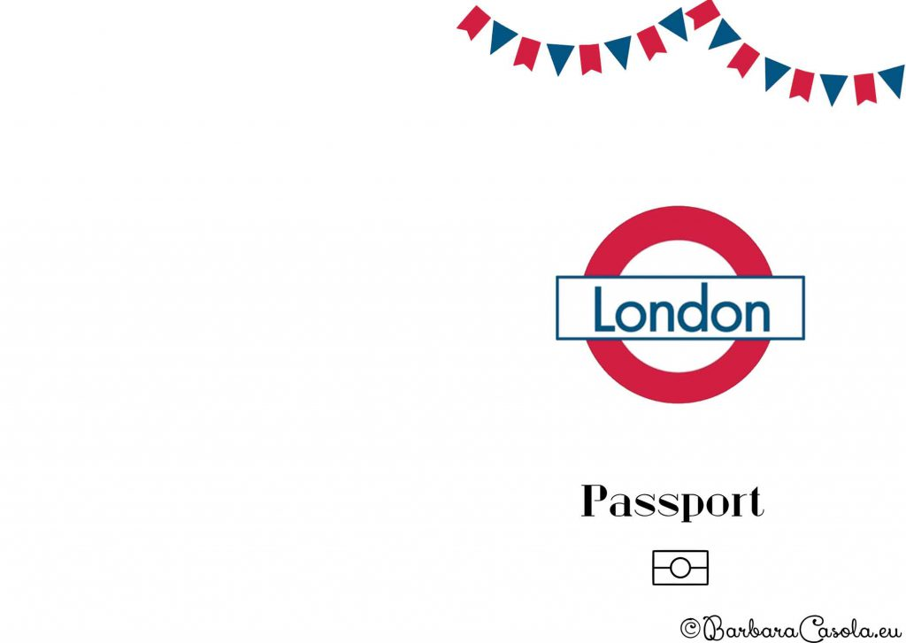 Party London copertina passaporto
