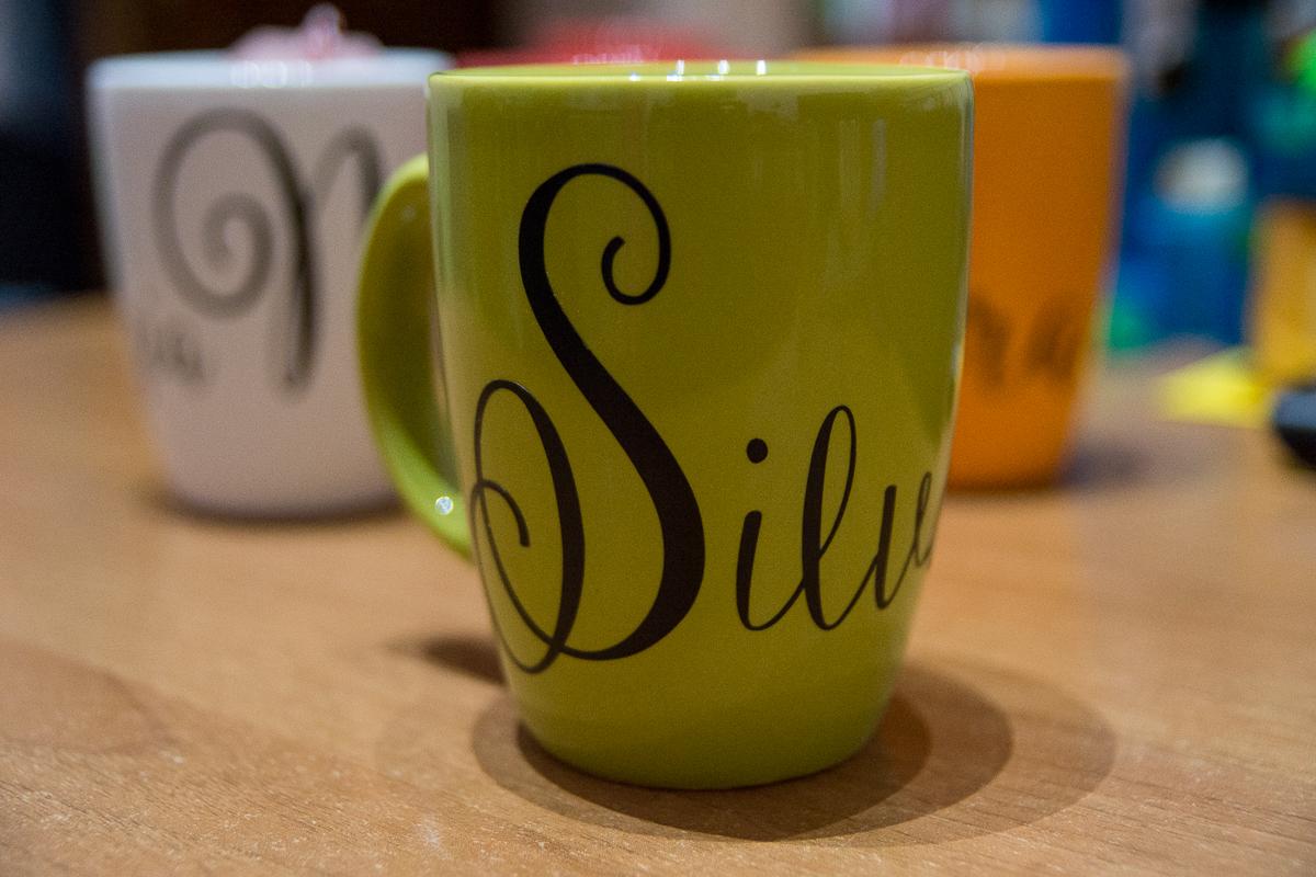 Tazze personalizzate; Silvana